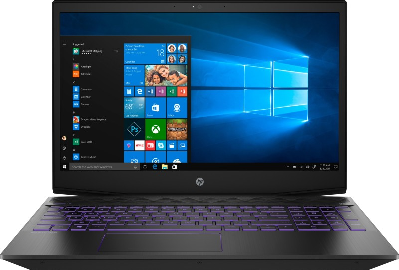 HP Pavilion Core i5 8th Gen - (8 GB/1 TB HDD/128 GB SSD/Windows 10 Home/4 GB Graphics) 15-cx0141TX Gaming Laptop(15.6 inch, Shadow Black, 2.17 kg)