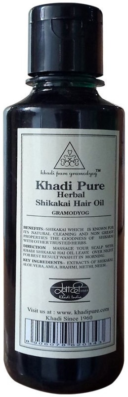 Khadi Pure Herbal Shikakai Hair Oil(210 ml)
