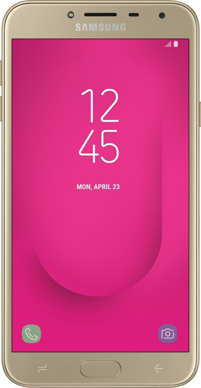 Samsung Galaxy J4 (Gold, 16 GB)(2 GB RAM)