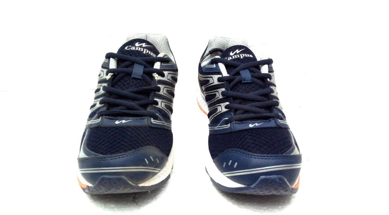 Campus Campus Skyway Blu/Sil/Org Running Shoes For Men(Blue, Silver, Orange)