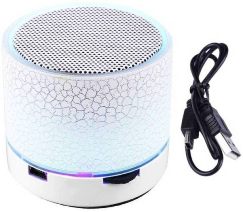 hoatzin Mini S10 Wireless Bluetooth With High Quality Sound Bluetooth Speaker-080 3 W Bluetooth Speaker(White, 2.1 Channel)