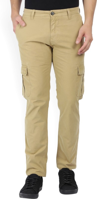 Pepe Jeans Slim Fit Mens Beige Trousers