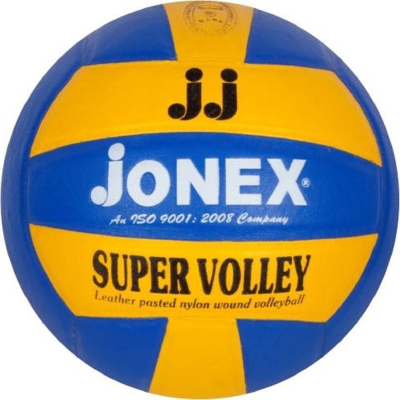 Jonex SUPER VOLLEY Volleyball - Size: 4(Pack of 1, Multicolor)