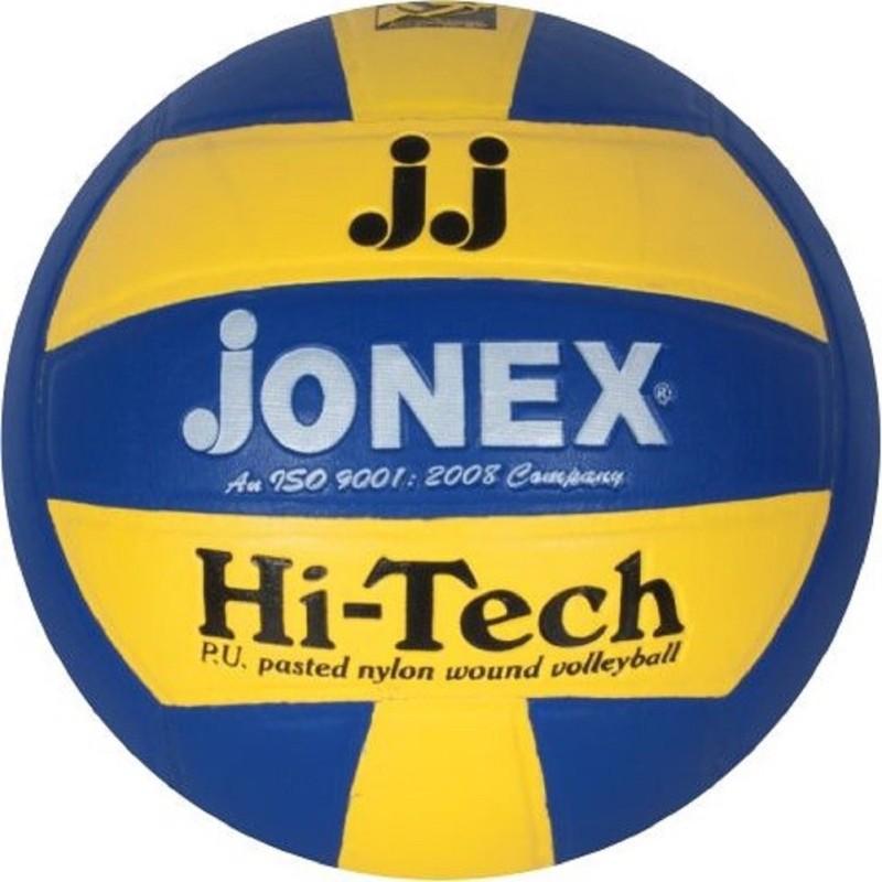 Jonex Super Hi Tech Volleyball - Size: 4(Pack of 1, Multicolor)