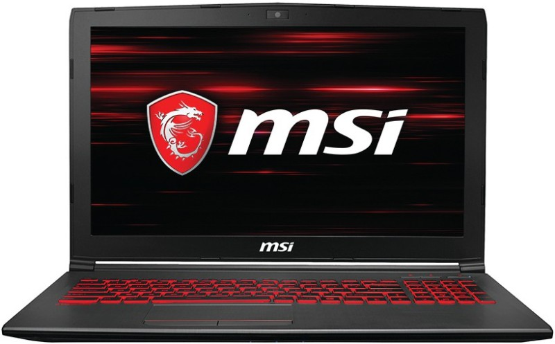 MSI GV Core i5 8th Gen - (8 GB/1 TB HDD/128 GB SSD/Windows 10 Home/6 GB Graphics) GV62 8RE-038IN Gaming Laptop(15.6 inch, Grey, 2.2 kg) image