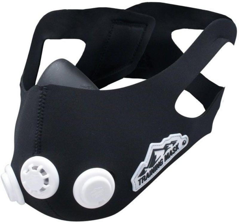 Dolphy Fitness Training Mask with Three Resistance Valves (Small) Elevation Training Mask(Small)
