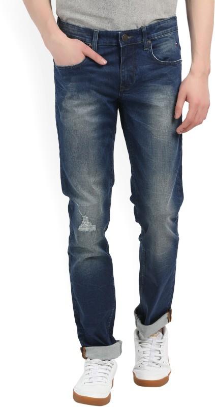 LP Jeans by Louis Philippe Slim Mens Dark Blue Jeans