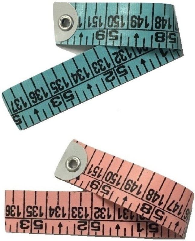 Gadget Deals Pack Of 2 Durable Quality Tailor Measurement Tape(1.5 Imperial)