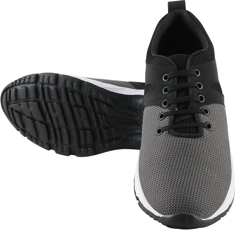 Ronork fashion Running Shoes For Men(Grey, Black)