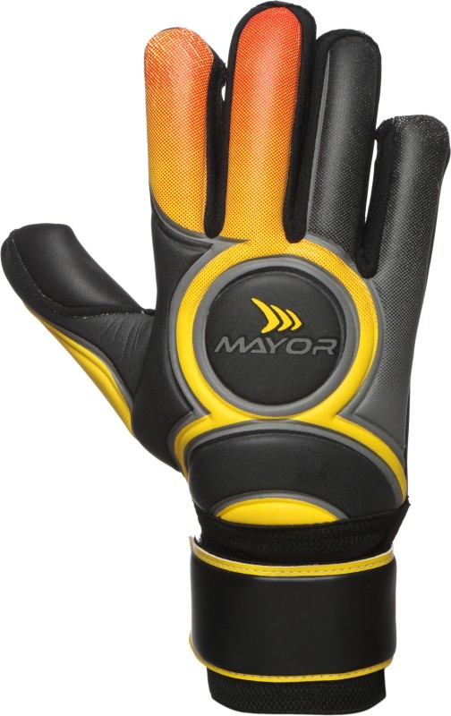 Mayor VENOM Goalkeeping Gloves (XL, Black)