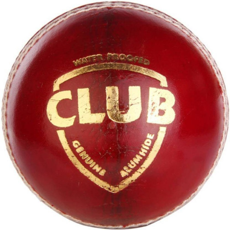 star craft SC CLUB Cricket Leather Ball(Pack of 3, Red)