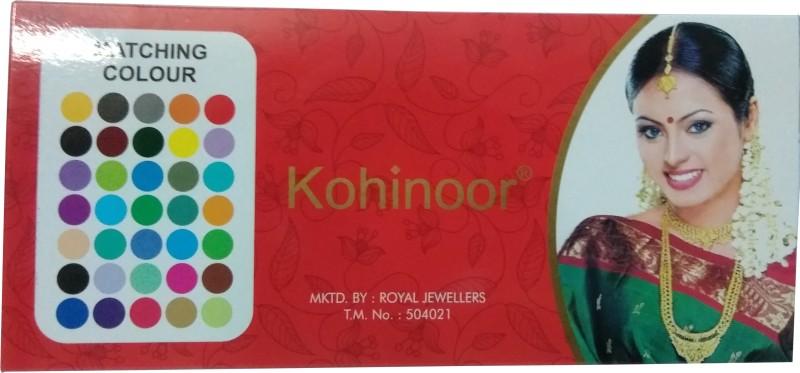Kohinoor Plain Red Bindi For Women All Skin Type Red Bindis(Stick on)