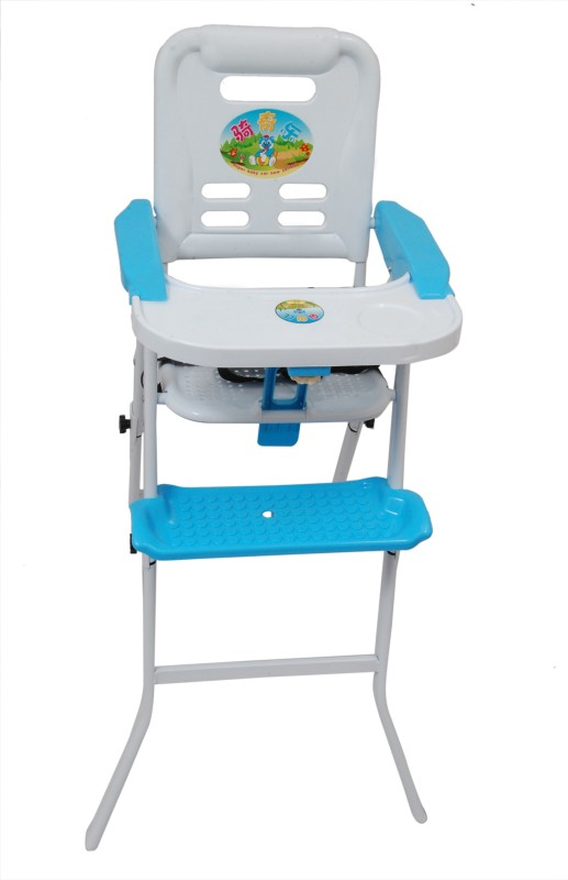 Happykids 3 IN 1 (HIGH CHAIR,ROCKING CHAIR AND BOOSTER SEAT(WHITE BLUE)
