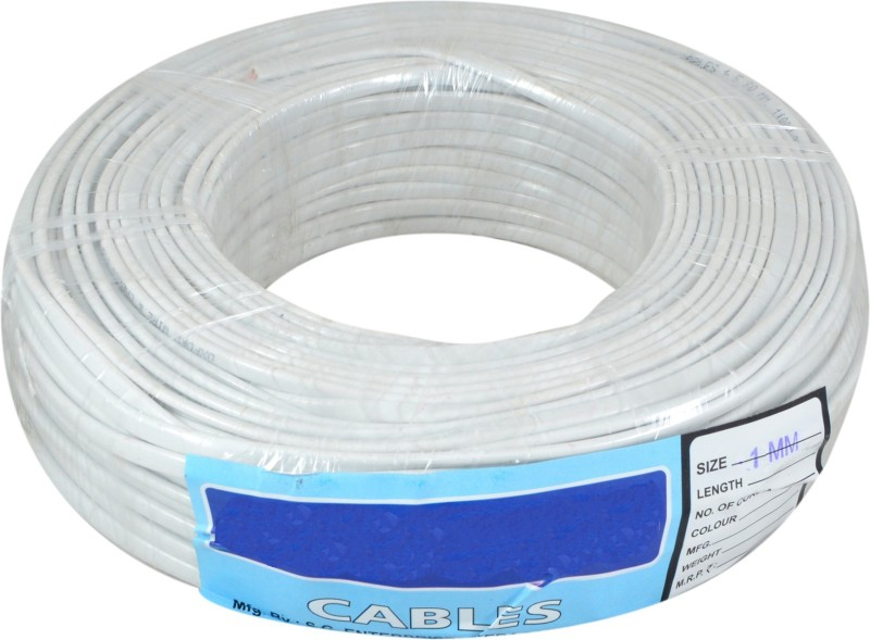 Instabuyz PVC White 270 ft. Wire(White)