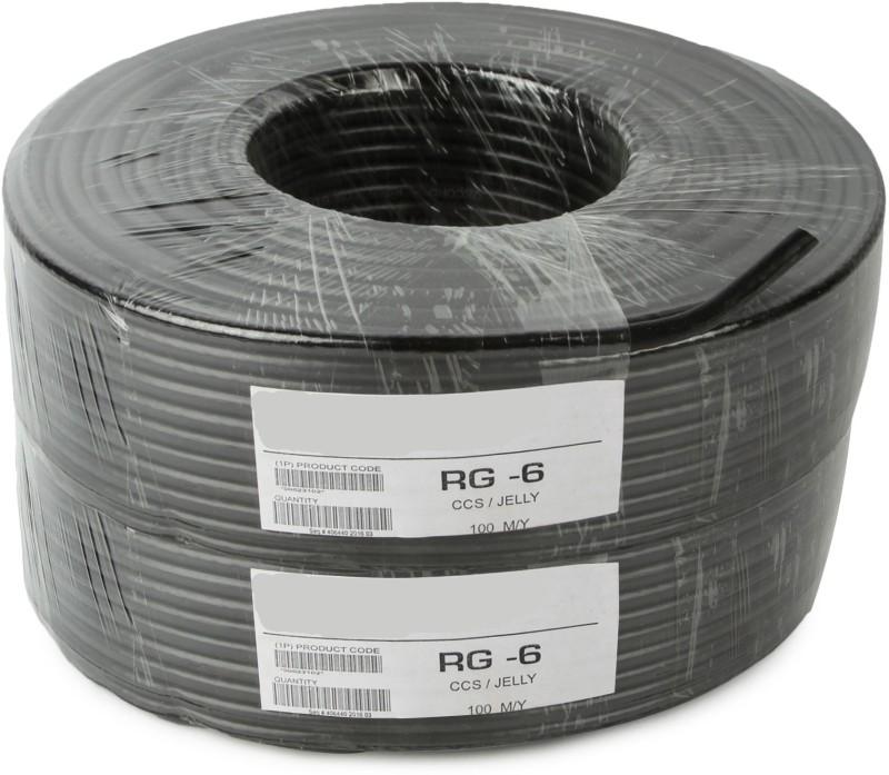 Instabuyz PVC Black 180 m Wire(Black)