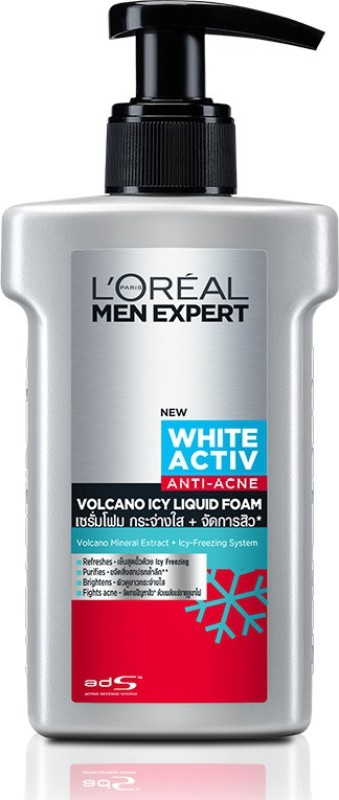LOreal Paris Men Expert Volcano Icy Red Gel Facewash Face Wash(150 g)