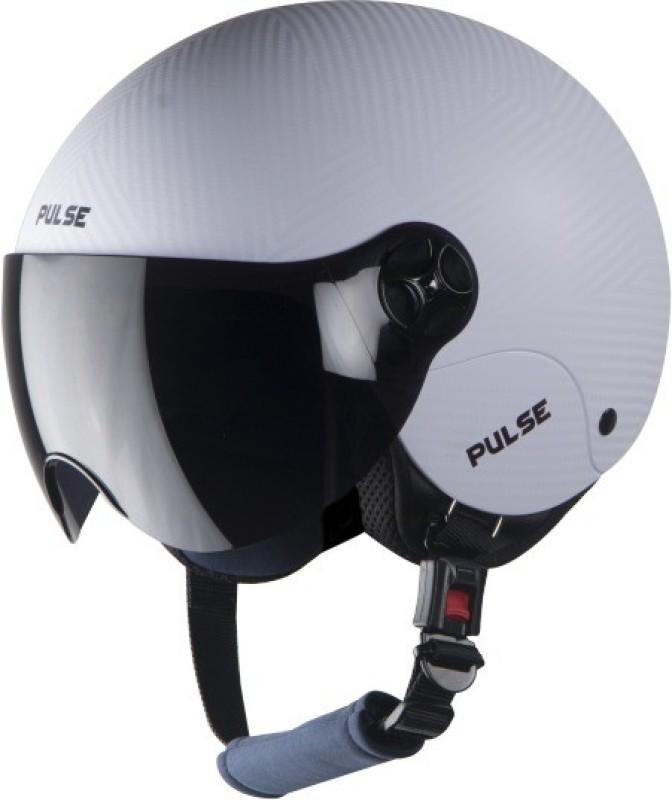 Steelbird SBH-16 Pulse Motorbike Helmet(White)