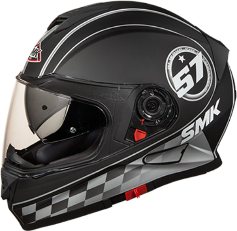 smk MA266 TWISTER BLADE GRAFIC Motorbike Helmet(Black)