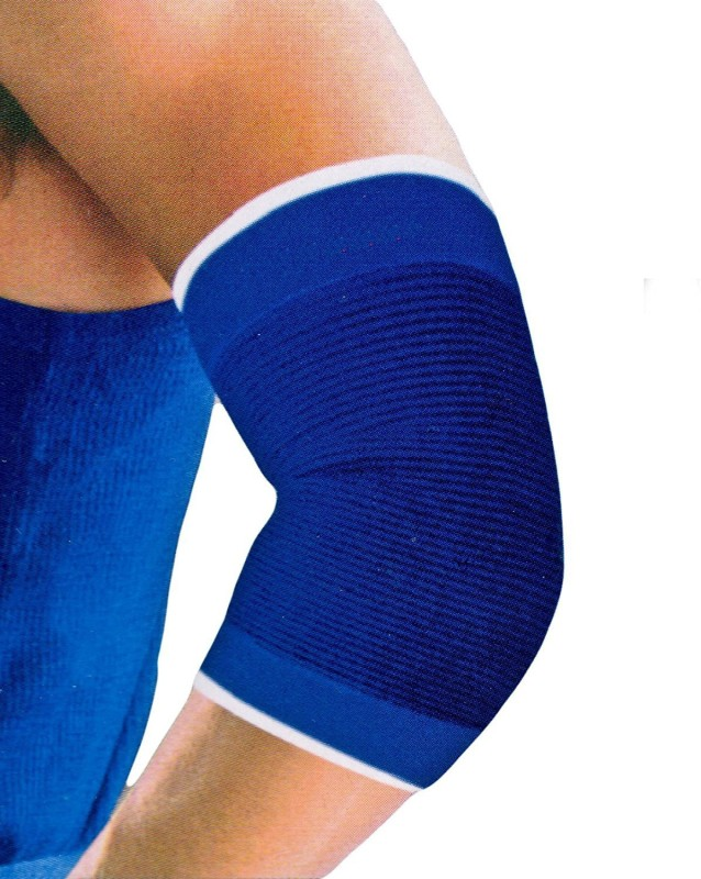 De-Ultimate Pack Of 1 Pair Fitness Gym Support Exercise Band protection Elbow Support (Free Size, Multicolor)