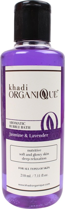 Khadi organique 'Khadi Organique Lavender & jasmine Bubble bath (Pack of 2)(420 ml)