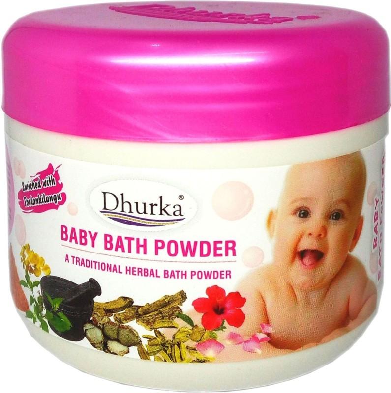 Dhurka BABY BATH POWDER 150g JAR (TRADITIONAL HERBAL BATH POWDER)(150 g)