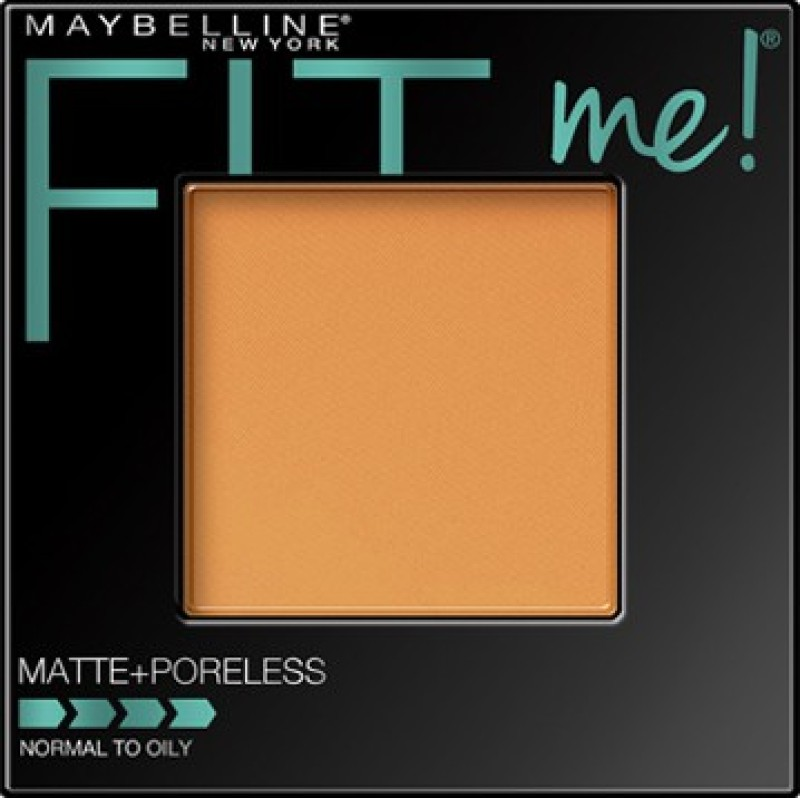 Maybelline Fit Me Matte Poreless Powder Compact(Toffee)
