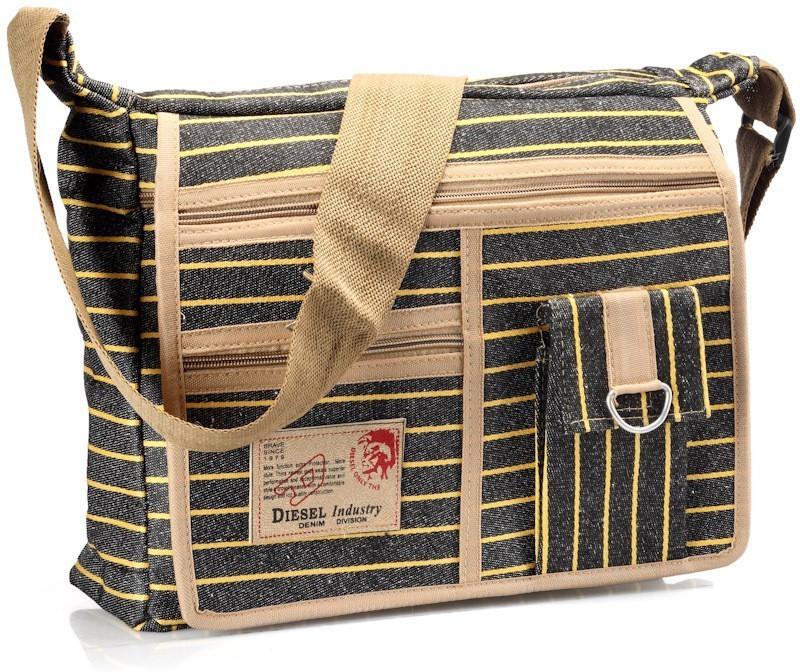 Roshiaaz Black Sling Bag