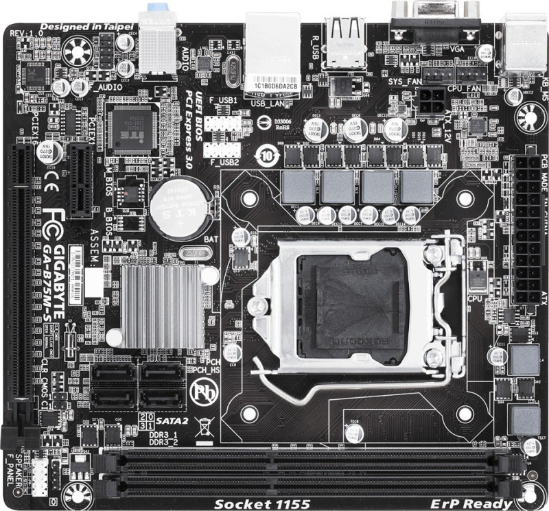 Gigabyte B75M-S Motherboard