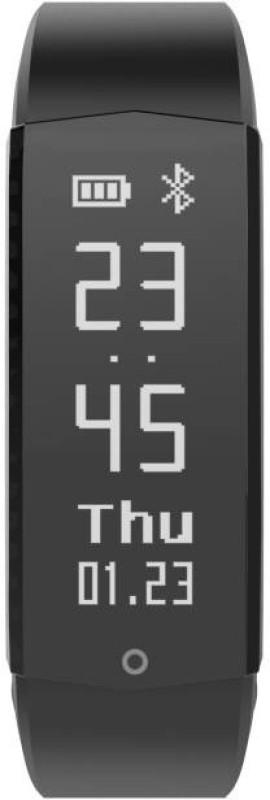 Lenovo HX06 Active Smartband(Black Strap, Size : Regular)