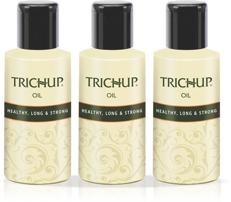 Trichup Healthy Long & Strong Oil 100 ml (Pack of 3) Hair Oil(100 ml)