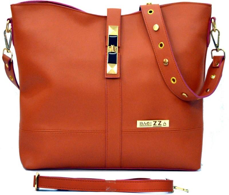 BAGIZZA Women Tan Shoulder Bag
