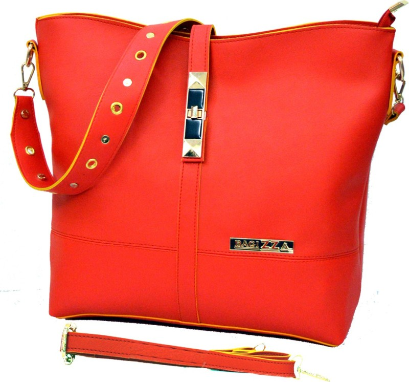 BAGIZZA Red Sling Bag