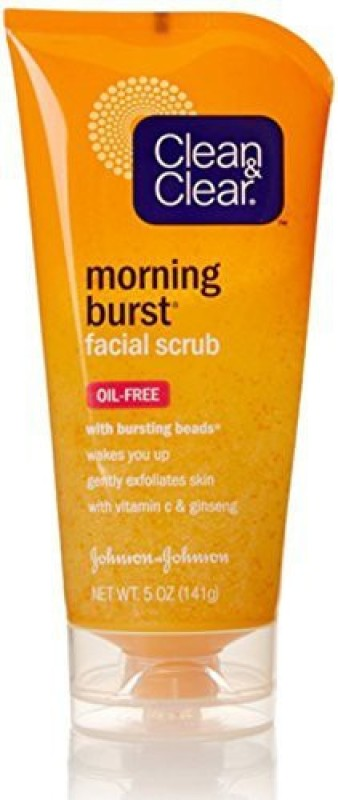 Clean & Clear Morning Burst Facial Scrub OilFree Scrub(147.87 ml)