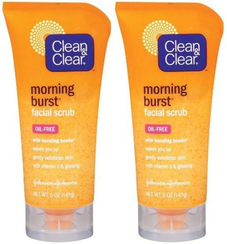 Clean & Clear Morning Burst Facial Scrub Original Pk Scrub(147.87 ml)