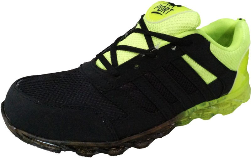 Port TENRIO Running Shoes For Men(Black)