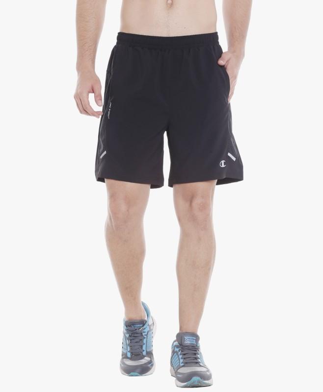 Champion byFBB Self Design Men Black Sports Shorts