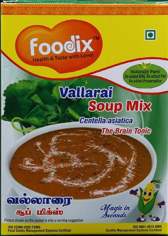 Foodix Centella asiatica Soup Mix (Vallarai Soup Mix) -100g (Pack of 2)(100 g)