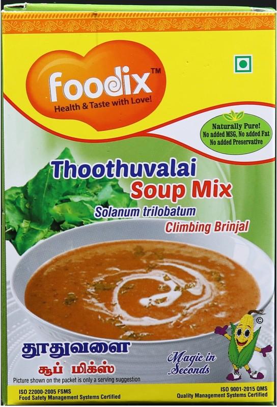 Foodix Solanum trilobatum Soup Mix (Thoothuvalai Soup Mix) -100g (Pack of 2)(100 g)