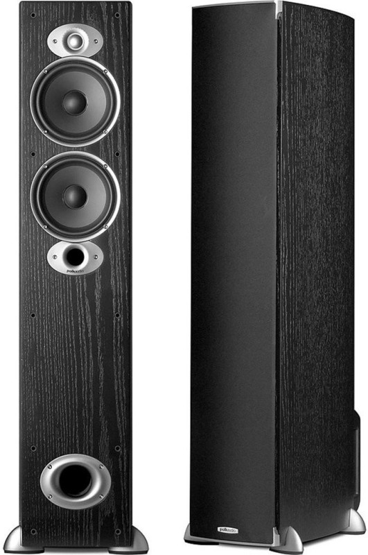 Polk Audio RTI-A5 Tower Speaker Pair- Max. Power Handling Each Watts - 250 W Tower Speaker(Black, 2.0 Channel)