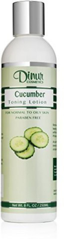 Dinur Cosmetics Cucumber Toning Lotion 8 Fl. Oz. 250 Ml.(250 ml)