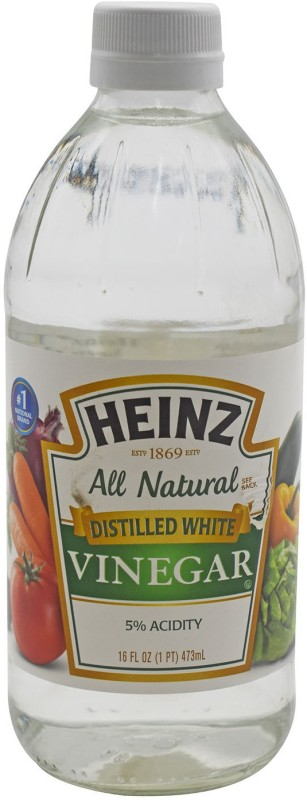 Heinz All Natural Distilled White Vinegar, 5% Acidity - 473ml (16oz) Vinegar(473 ml)