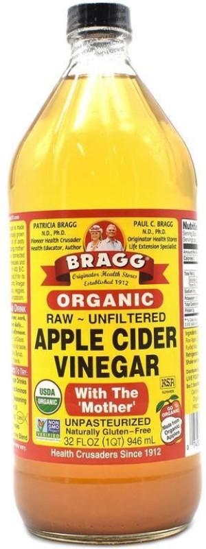 Bragg Organic Raw - Unfiltered Apple Cider Vinegar - 946ml(32oz) Vinegar(946 ml)