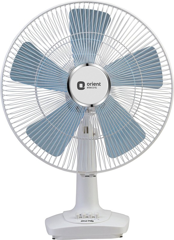 Orient DESK 60 WIND PRO 5 Blade Table Fan(WHITE)