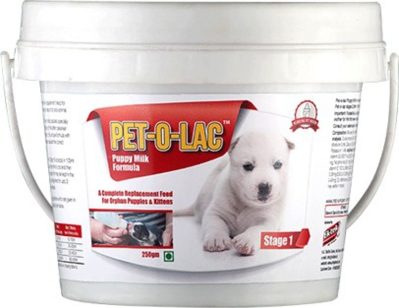 all4pets Pet-O-Lac Stage 1 Milk 250 g Dry Dog & Cat Food