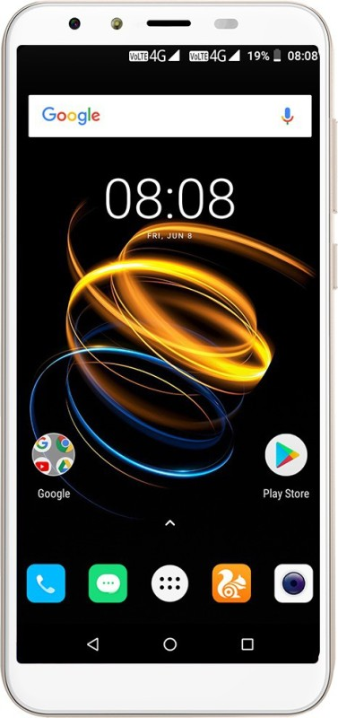 iVOOMi i2 Lite (Saturn Gold, 16 GB)(2 GB RAM)