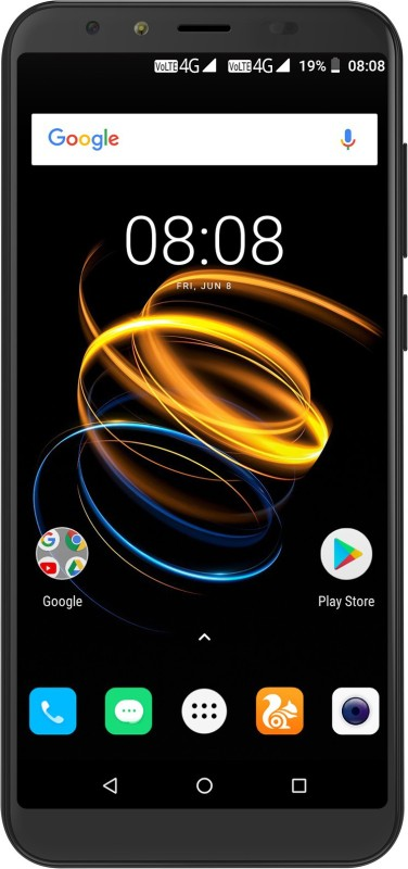iVOOMi i2 Lite (Mercury Black, 16 GB)(2 GB RAM)