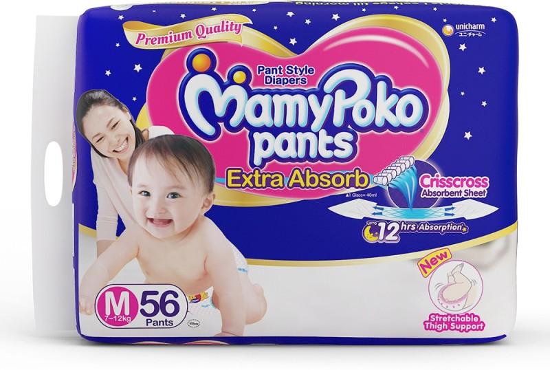 MamyPoko Pants - M(56 Pieces)