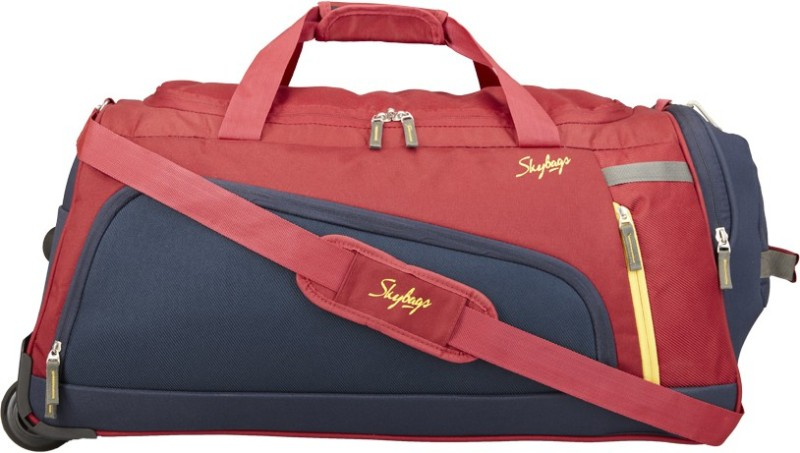 Skybags HATCH DFT 67 RED Duffel Strolley Bag(Red)