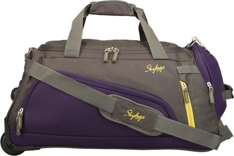 Skybags HATCH DFT 57 GREY Duffel Strolley Bag(Grey)