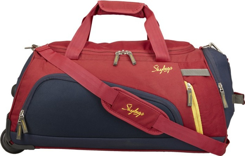 Skybags HATCH DFT 57 RED Duffel Strolley Bag(Red)